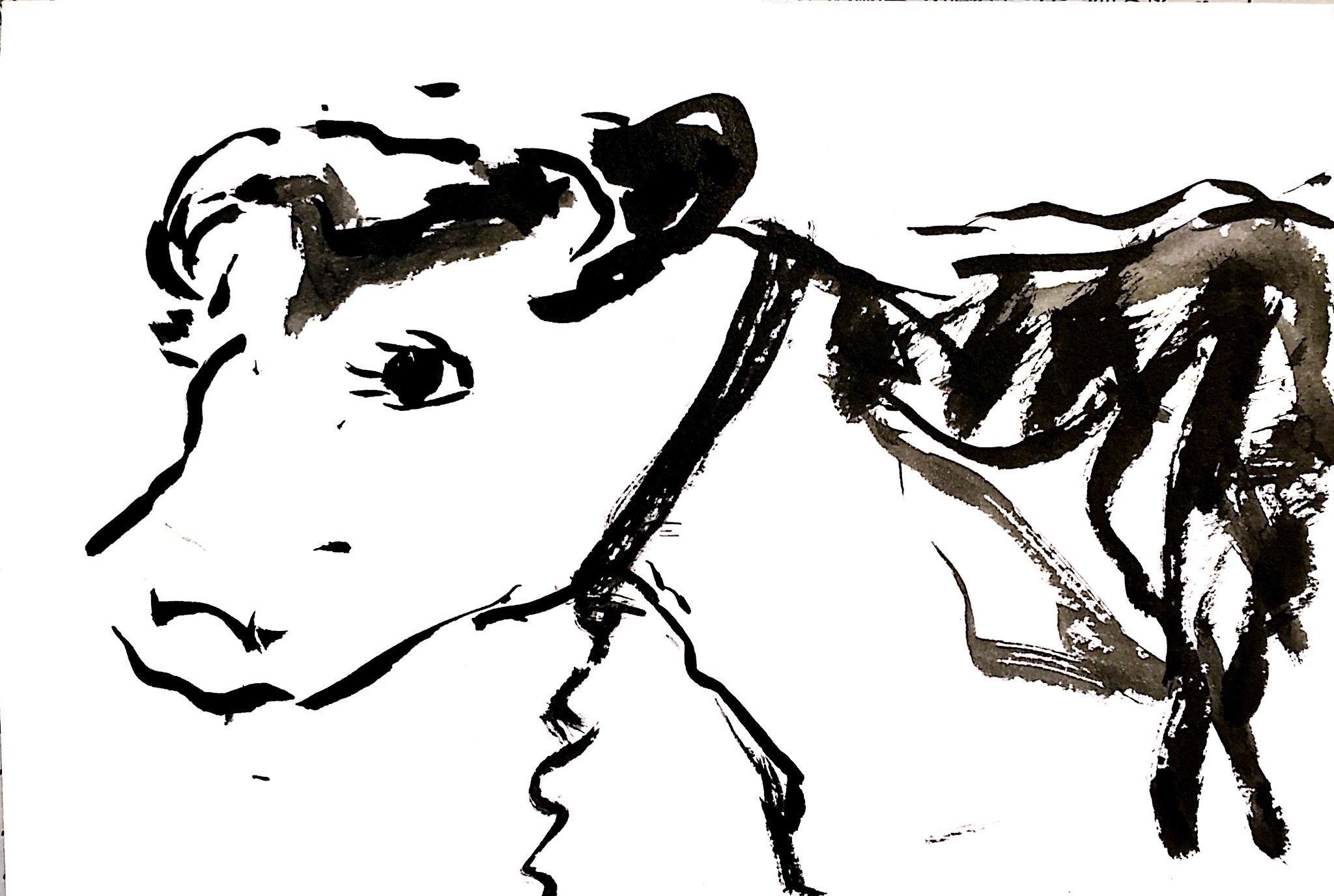 かわいい牛さん