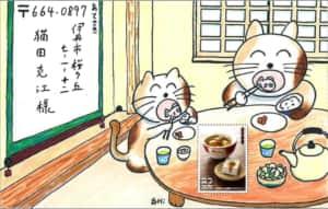 猫のお食事タイム