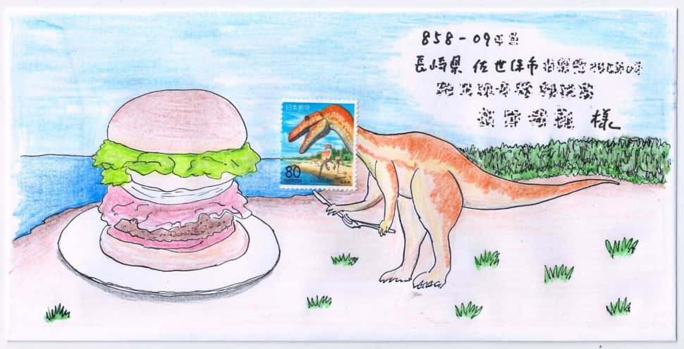 佐世保バーガー大好き恐竜