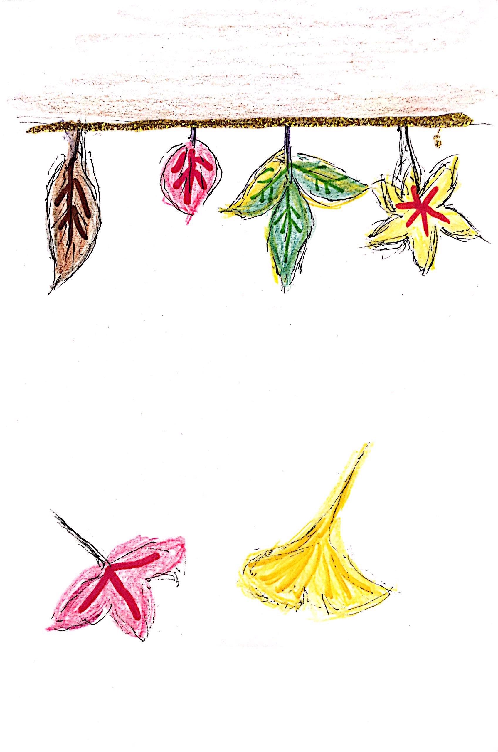 秋冬を彩る枯れ葉たち