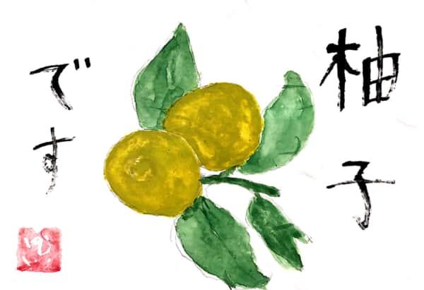柚子です。