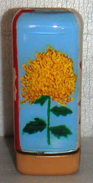 空き瓶アート 〜菊の花〜