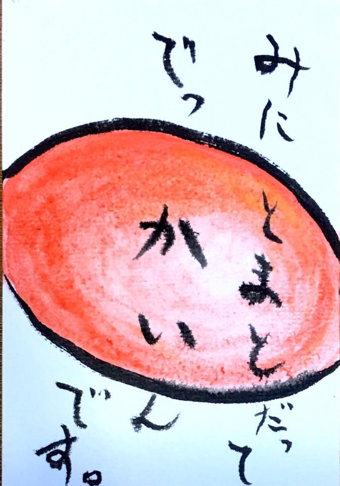 ミニトマトだってでっかいんです。
