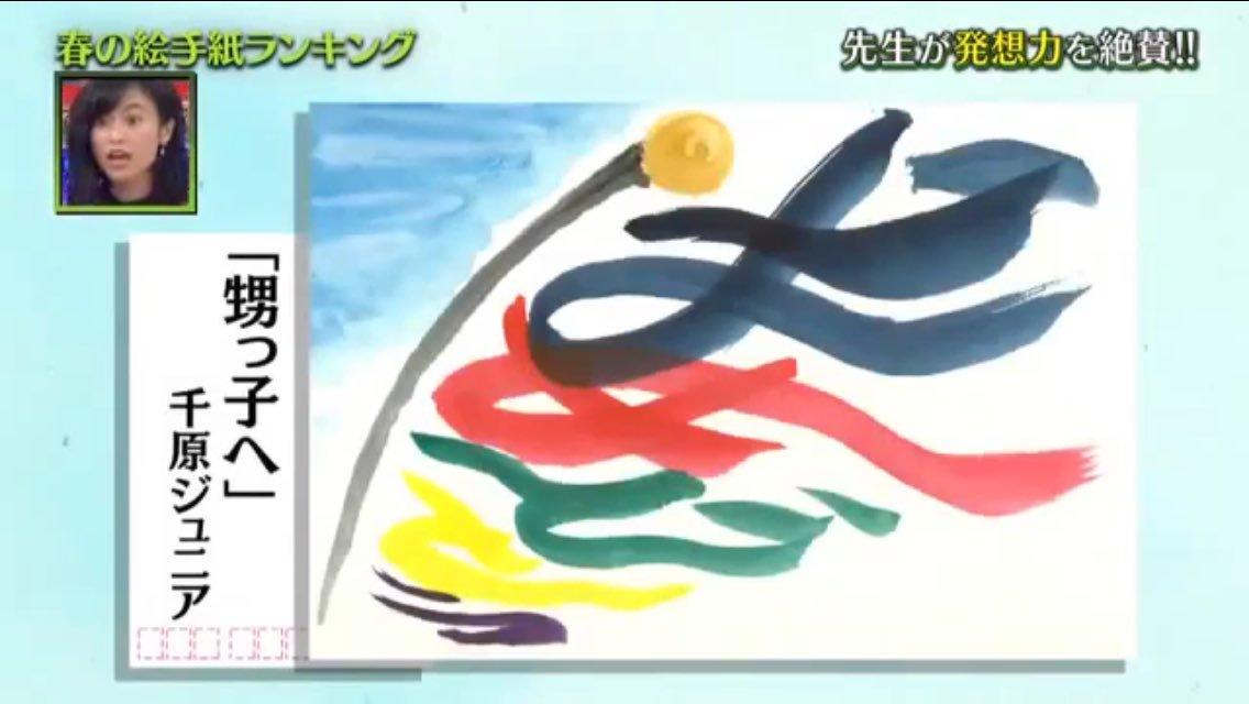 【プレバト】絵手紙の登場するテレビ番組