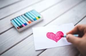 絵手紙に使えるパステル