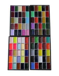 絵手紙用100色顔彩
