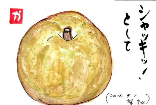 シャキッ!として〜幸水梨〜