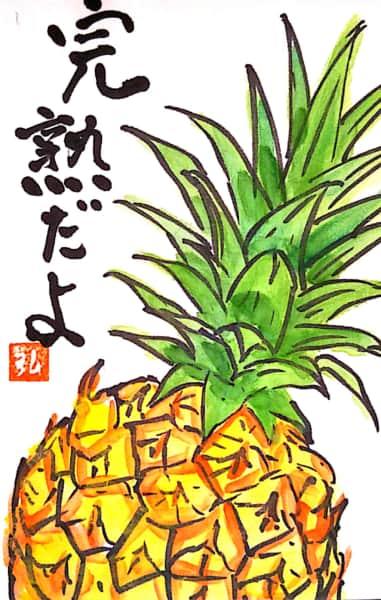 父島のパイナップル