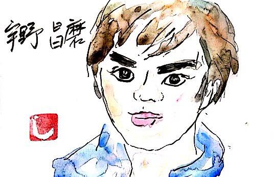 宇野昌磨さんの似顔絵