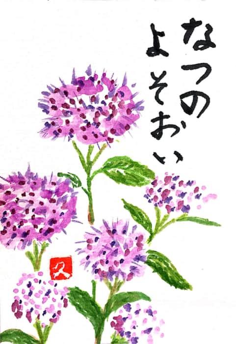 夏のよそおい アカツメクサの花