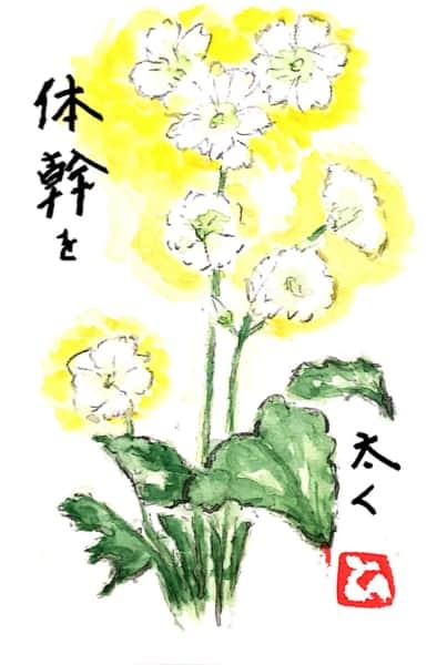 体幹を太く 〜ジャスミンの花〜