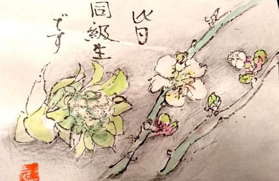 皆 同級生です 〜フキノトウと桜の花〜