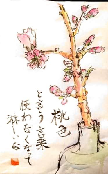 桃色という言葉使わなくなって淋しいな 〜花桃の花〜