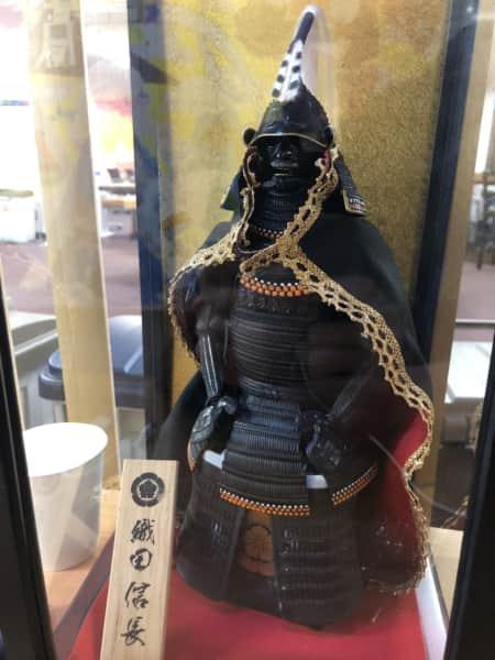 織田信長の鎧兜