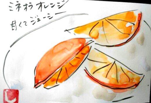 ミネオラオレンジ 甘くてジューシー