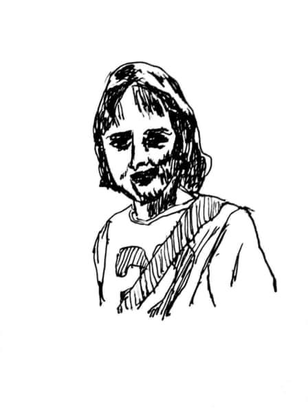 Stephen Stills の似顔絵