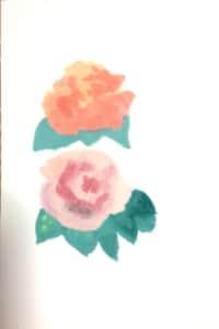 平和を願うアンネのバラと姉妹バラのプレイ1988。