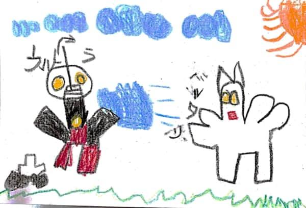 ウルトラマン 対 バルタン星人