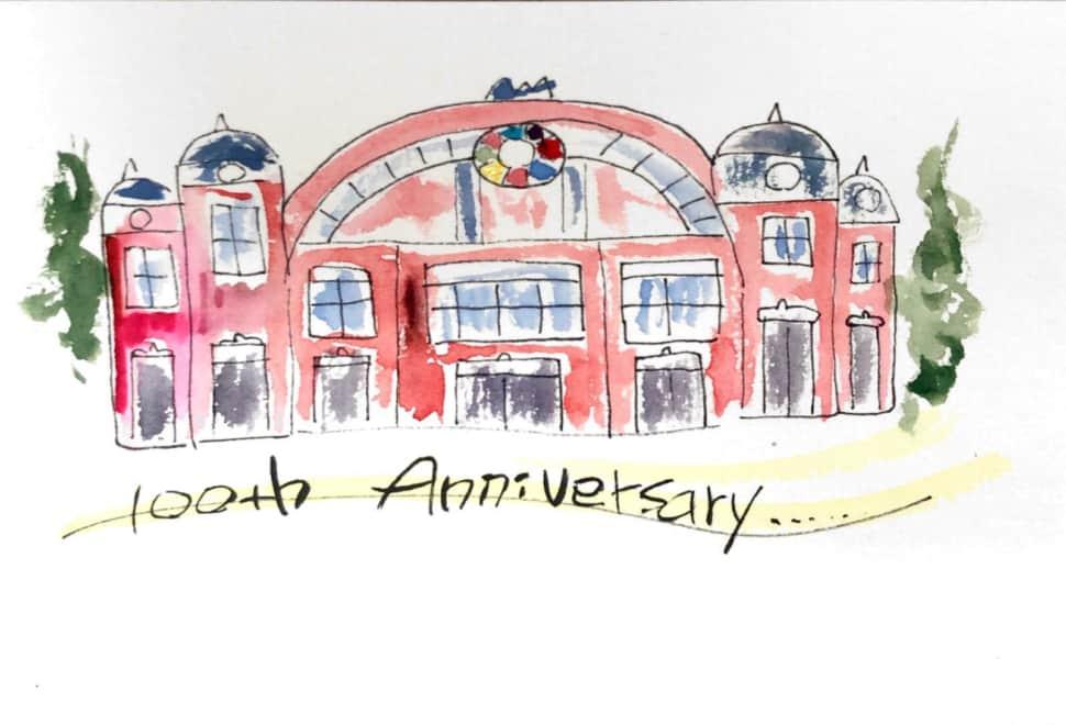 大阪市中央公会堂、百周年記念