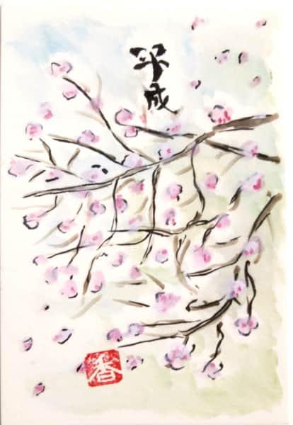 平成の桜吹雪