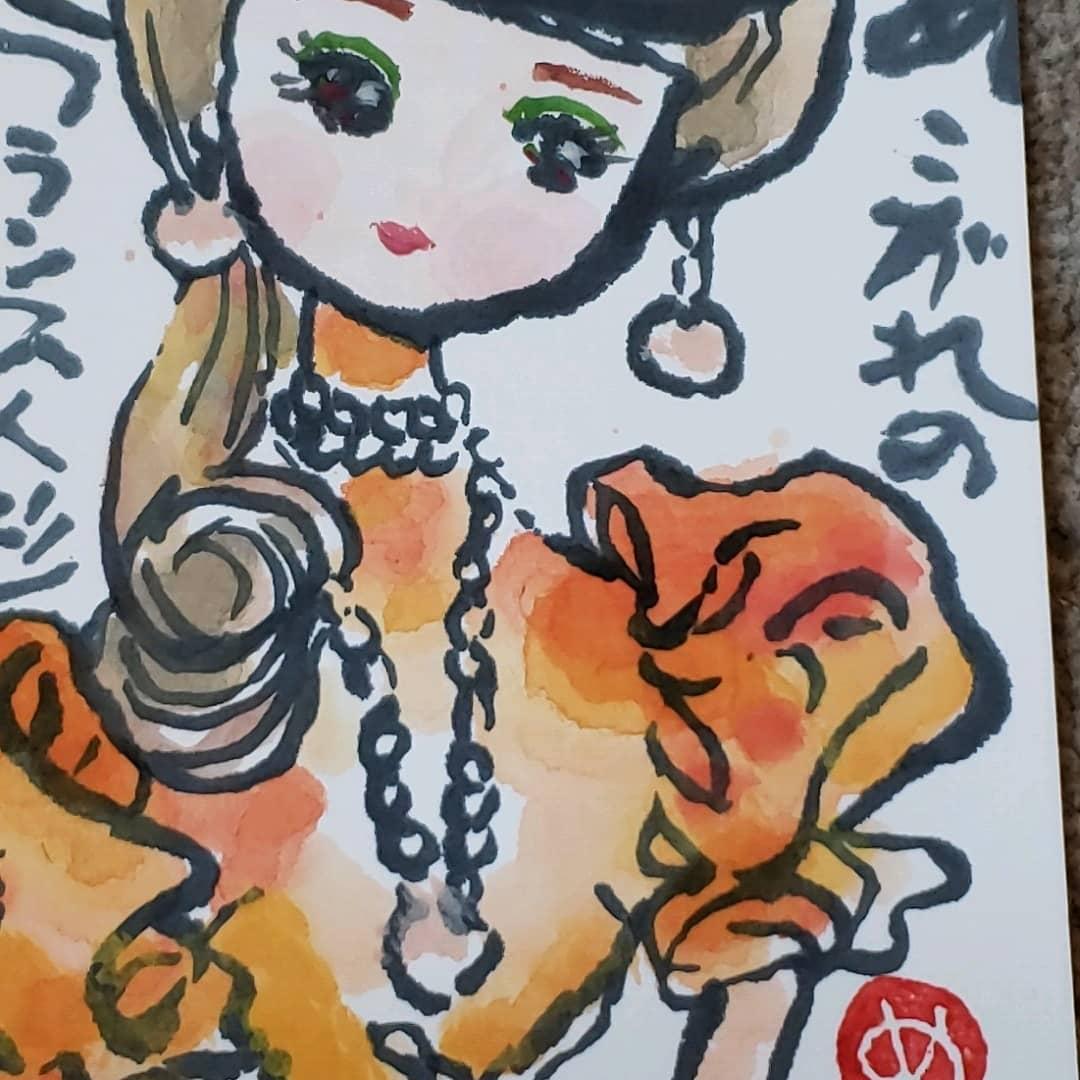 レイ子さんのフランス人形
