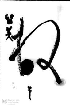 書の年賀状2