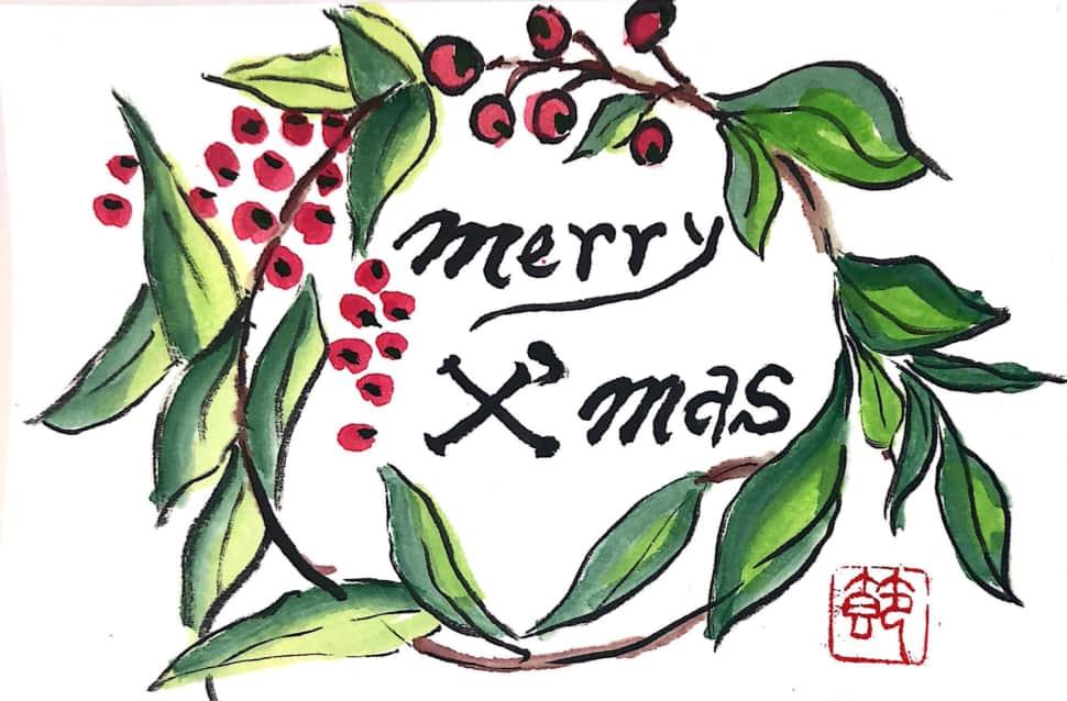 Merry Xmas クリスマスリース