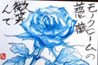 モノクロームの薔薇